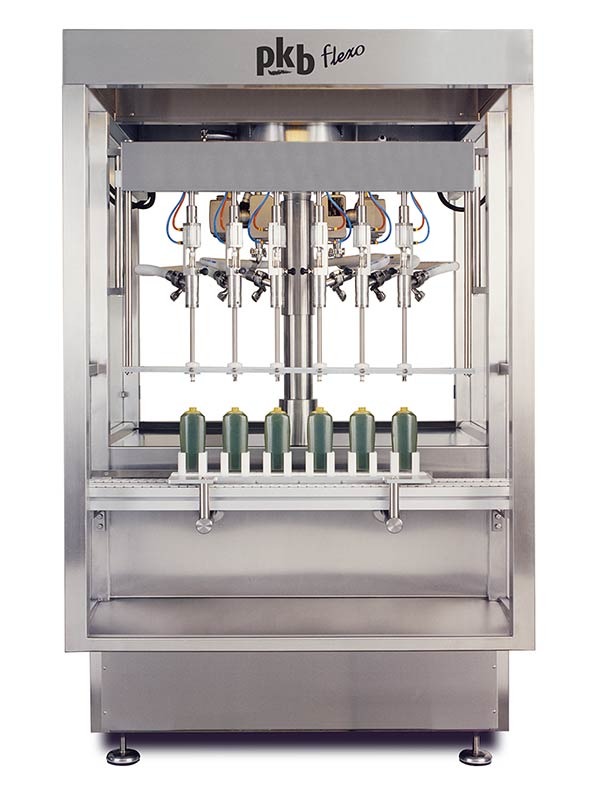 PKB FLEXO COSMETICS : filling machine up to 160 bpm