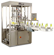 PKB EKO COSMETICS : filling/capping machine up to 30 bpm
