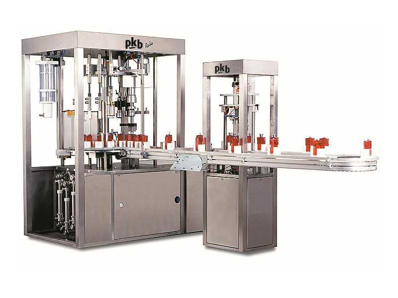 PKB ROBO PERFUME MINIATURES : filling/capping machine up to 100 bpm