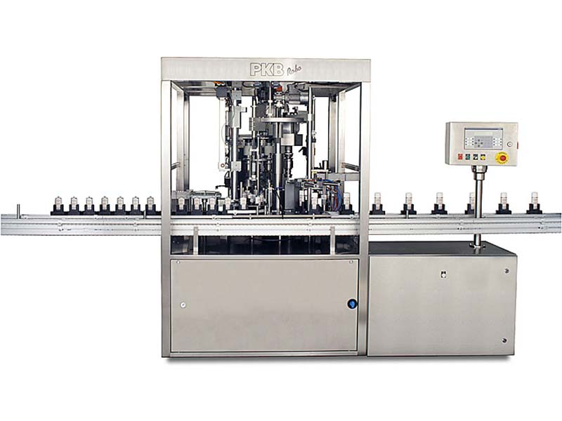 PKB ROBO Foundation: filling/capping machine up to 40 bpm
